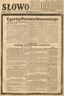 Słowo. 1939, nr2