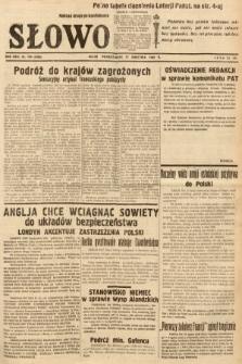 Słowo. 1939, nr104 (wydanie drugie po konfiskacie)