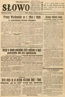 Słowo. 1939, nr113 (wydanie drugie po konfiskacie)