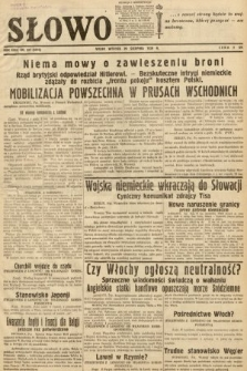 Słowo. 1939, nr237