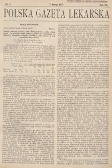 Polska Gazeta Lekarska. 1933, nr7