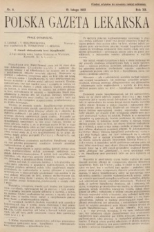 Polska Gazeta Lekarska. 1933, nr8