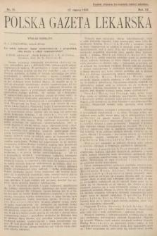 Polska Gazeta Lekarska. 1933, nr11