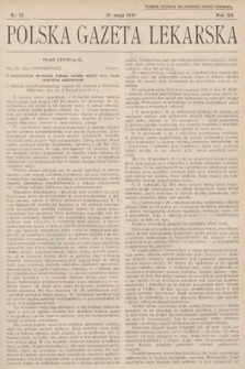 Polska Gazeta Lekarska. 1933, nr22