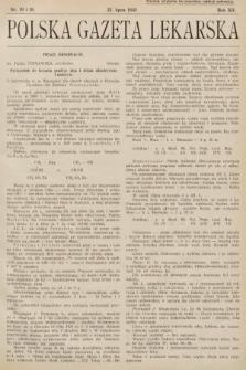 Polska Gazeta Lekarska. 1933, nr29 i 30