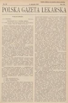 Polska Gazeta Lekarska. 1933, nr32