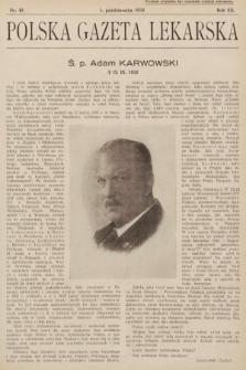 Polska Gazeta Lekarska. 1933, nr40