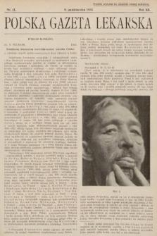 Polska Gazeta Lekarska. 1933, nr41