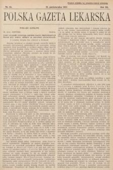 Polska Gazeta Lekarska. 1933, nr44