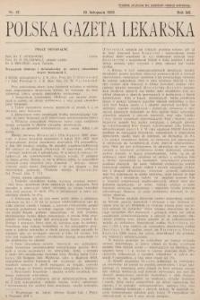 Polska Gazeta Lekarska. 1933, nr47