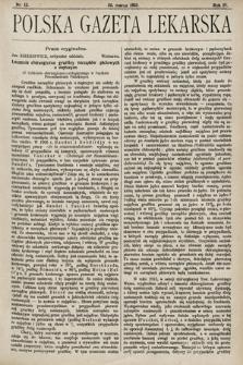 Polska Gazeta Lekarska. 1925, nr13
