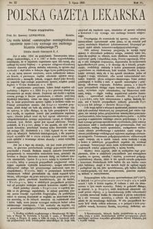 Polska Gazeta Lekarska. 1925, nr27