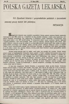 Polska Gazeta Lekarska. 1925, nr28