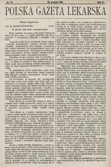 Polska Gazeta Lekarska. 1925, nr51
