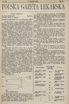 Polska Gazeta Lekarska. 1925, nr52