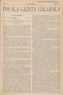 Polska Gazeta Lekarska. 1934, nr3