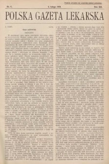 Polska Gazeta Lekarska. 1934, nr6