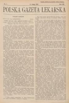 Polska Gazeta Lekarska. 1934, nr7