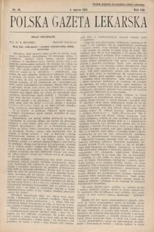 Polska Gazeta Lekarska. 1934, nr10