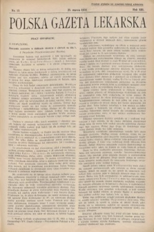 Polska Gazeta Lekarska. 1934, nr13