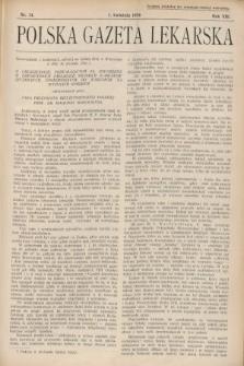 Polska Gazeta Lekarska. 1934, nr14