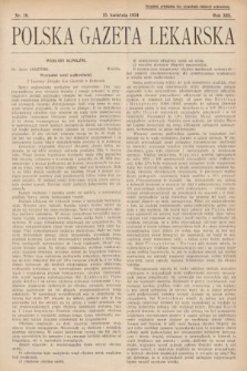 Polska Gazeta Lekarska. 1934, nr16