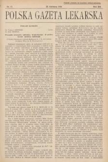 Polska Gazeta Lekarska. 1934, nr17