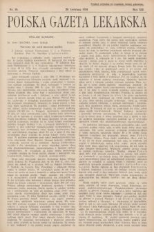 Polska Gazeta Lekarska. 1934, nr18
