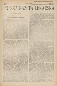 Polska Gazeta Lekarska. 1934, nr21