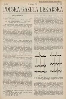 Polska Gazeta Lekarska. 1934, nr24