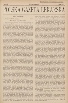 Polska Gazeta Lekarska. 1934, nr26