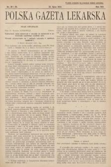 Polska Gazeta Lekarska. 1934, nr29 i 30