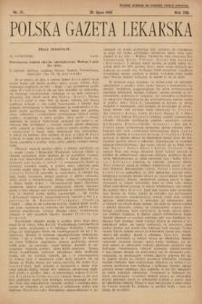 Polska Gazeta Lekarska. 1934, nr31