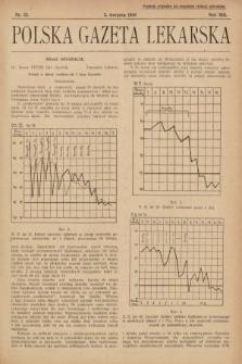 Polska Gazeta Lekarska. 1934, nr32