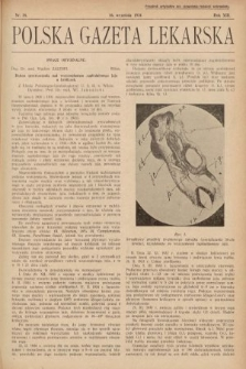 Polska Gazeta Lekarska. 1934, nr38