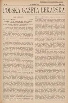 Polska Gazeta Lekarska. 1934, nr39