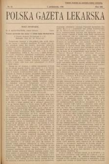Polska Gazeta Lekarska. 1934, nr41