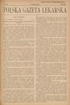 Polska Gazeta Lekarska. 1934, nr45