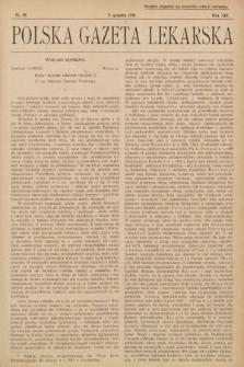 Polska Gazeta Lekarska. 1934, nr50