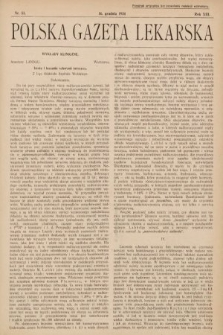 Polska Gazeta Lekarska. 1934, nr51