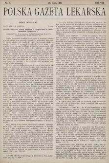 Polska Gazeta Lekarska. 1929, nr21