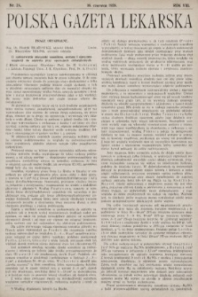 Polska Gazeta Lekarska. 1929, nr24