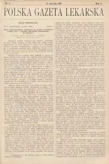 Polska Gazeta Lekarska. 1926, nr5