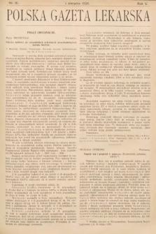 Polska Gazeta Lekarska. 1926, nr31