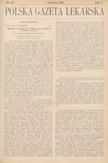 Polska Gazeta Lekarska. 1926, nr45