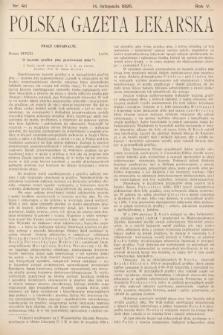 Polska Gazeta Lekarska. 1926, nr46