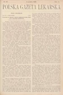 Polska Gazeta Lekarska. 1926, nr49