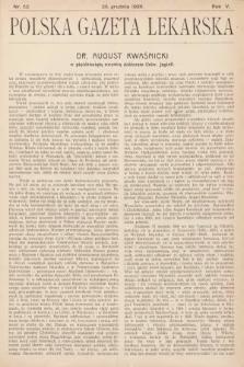 Polska Gazeta Lekarska. 1926, nr52
