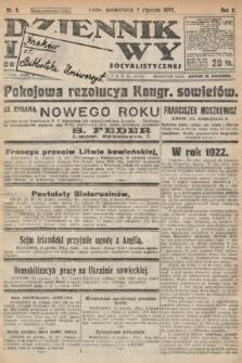 Dziennik Ludowy : organ Polskiej Partyi Socyalistycznej. 1922, nr2