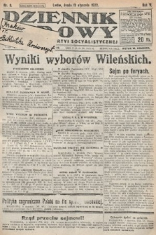Dziennik Ludowy : organ Polskiej Partyi Socyalistycznej. 1922, nr8